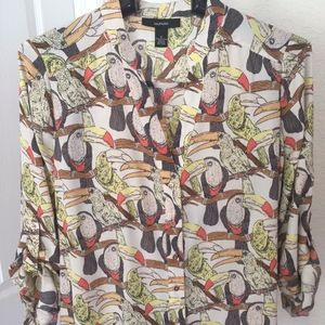 ALFANI FABULOUS TUCAN SHIRT SO UNIQUE 6